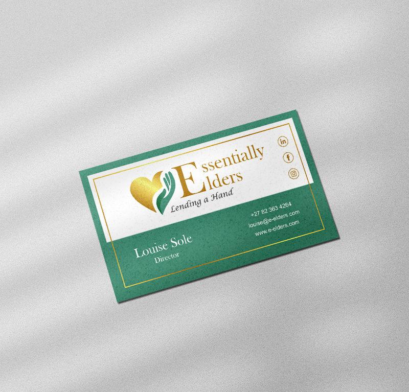 Essentially Elders Business Cards
