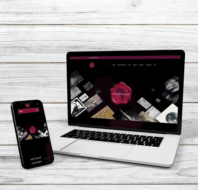 The Kurator Website