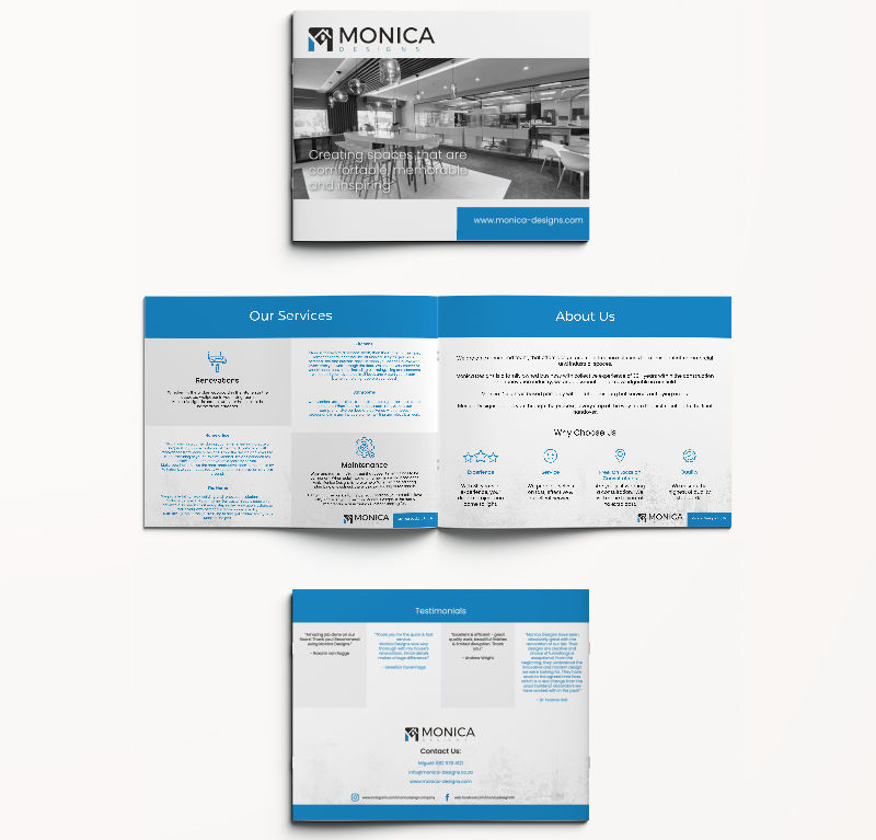 Monica Designs Company Profile