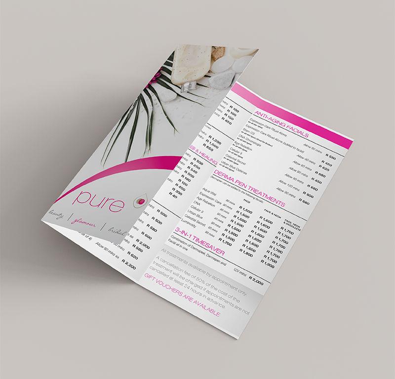 Pure Beauty Brochure