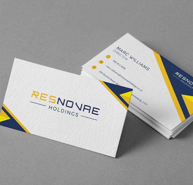 Resnovae Holdings Business Cards