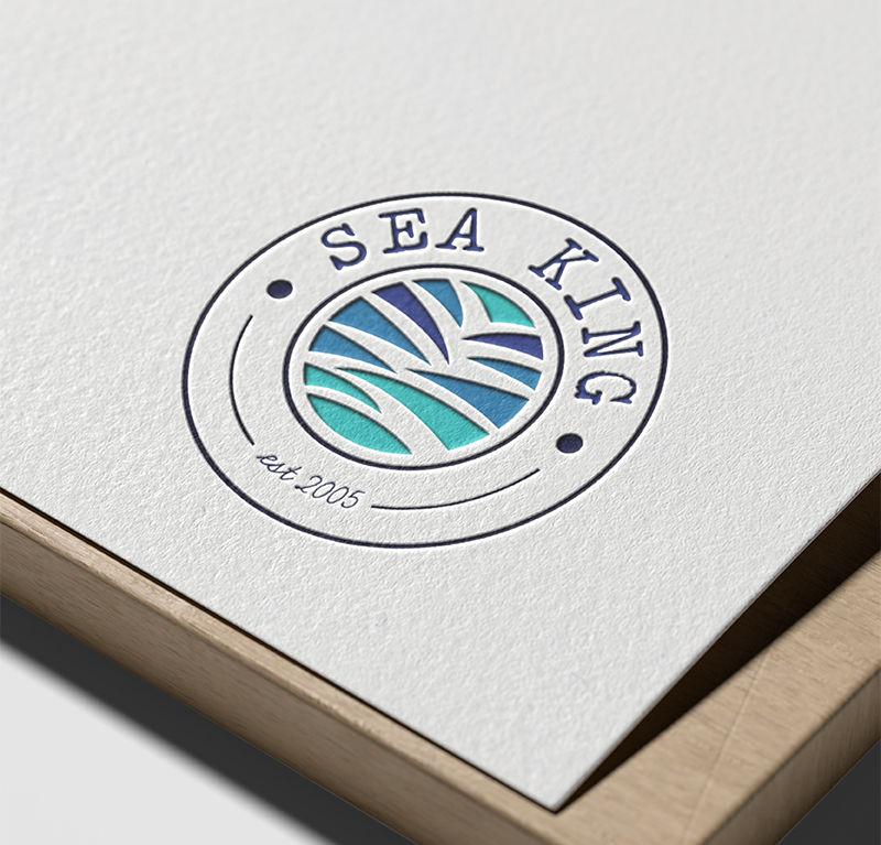 Sea King est 2005 logo